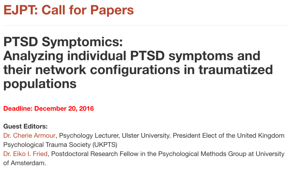 Apa research paper on ptsd